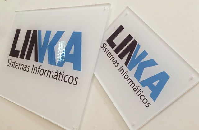 Placa-metacrilato-linka