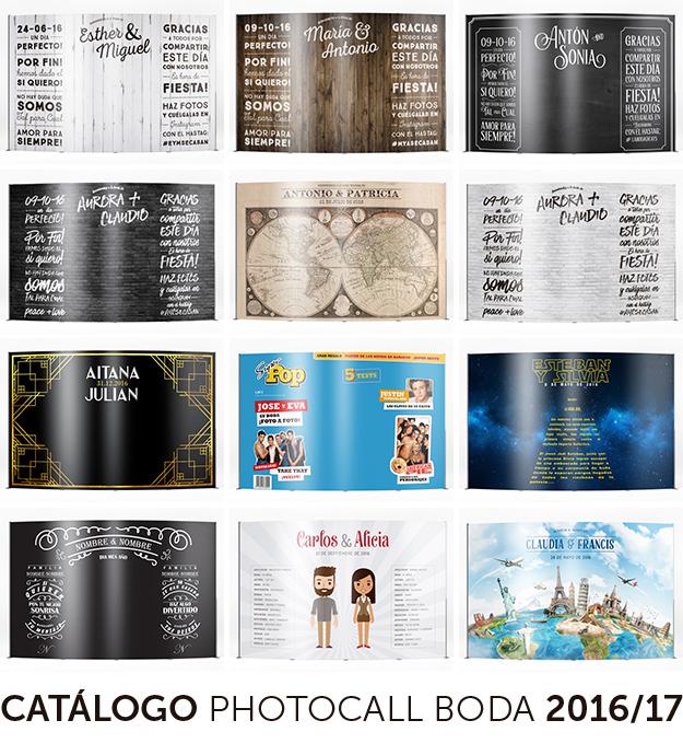 Photocall boda original