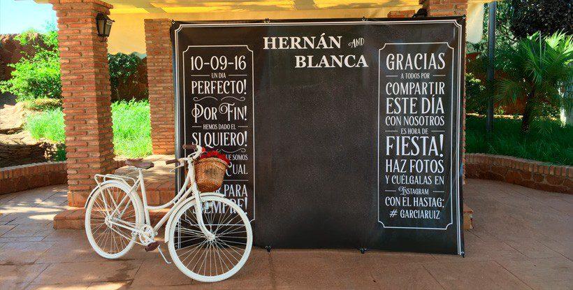 Photocall boda compra el tuyo desde 33 for Photocall boda vintage
