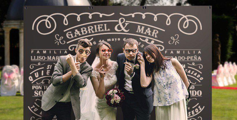 phocall boda pizarra