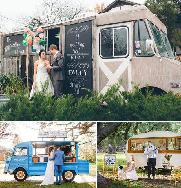 Food Trucks para bodas. Ideas originales para bodas.