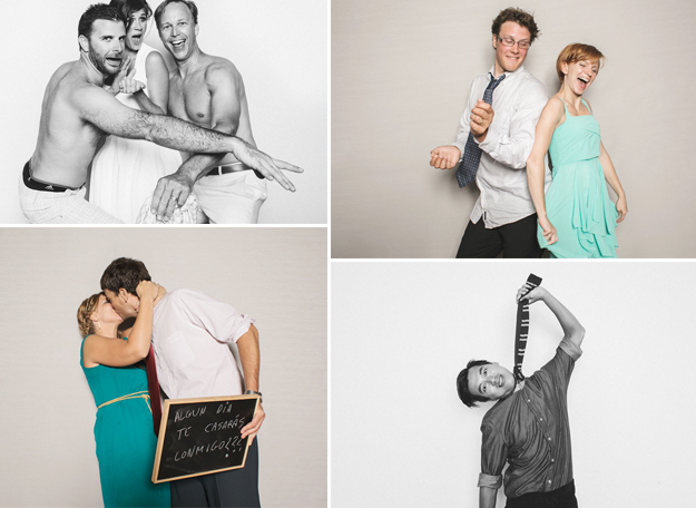 Ideas originales para bodas. Photobooth original para bodas