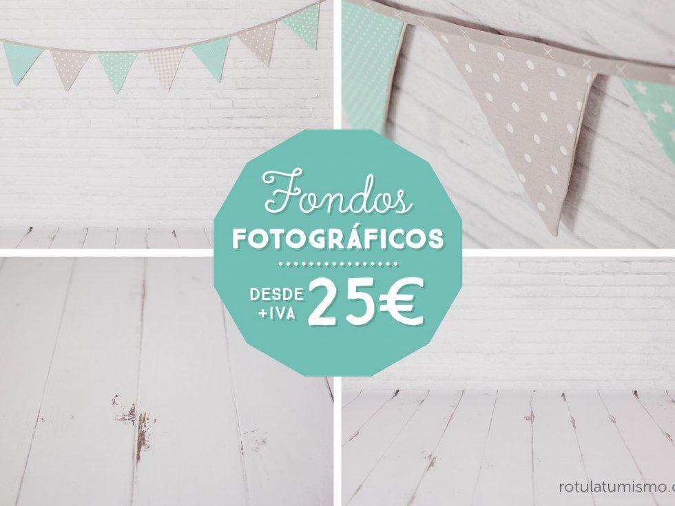 Fondos para estudios fotográficos