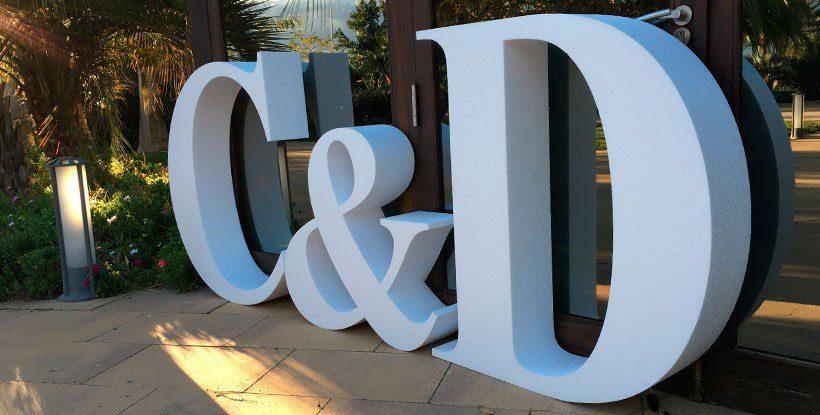 Conoces nuestro pack de letras gigantes para bodas for Letras gigantes para bodas baratas