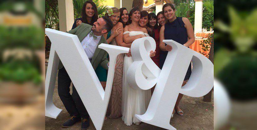 conoces nuestro pack de letras gigantes para bodas