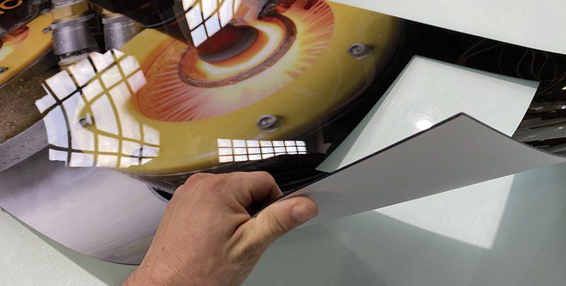 Impresión para máquinas de vending