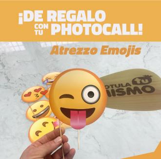 Atrezzo para photocall emojis