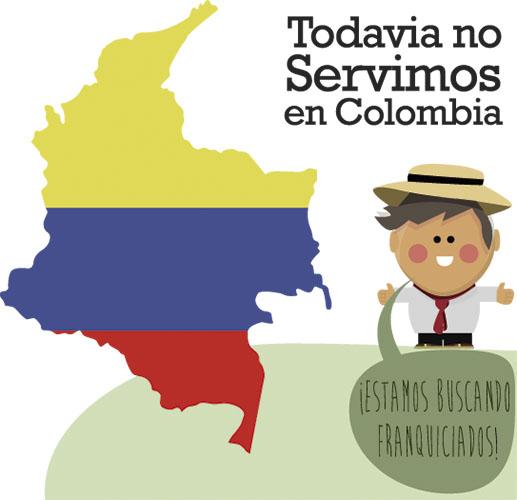franquiciados colombia, rotulatumismo en colombia