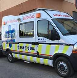Rotulación Vehiculos Furgoneta Ambulancia