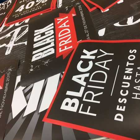 posters para el black friday, black friday