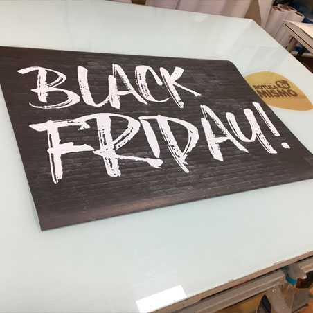 cartel black friday malaga, blackfriday poster