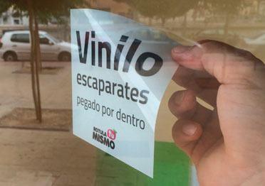 Vinilos para escaparates personalizados