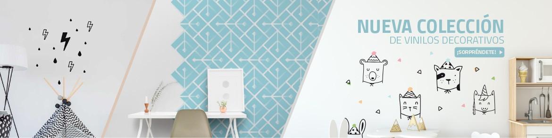 Descubre nuestra nueva colección de vinilos de decoración. Vinilos para muebles, vinilos para pared y vinilos infantiles