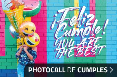 Decoración y Photocall para Cumpleaños