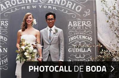 Decoración y Photocall para Comuniones y Bodas