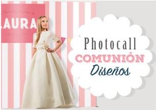 Photocall para Comuniones