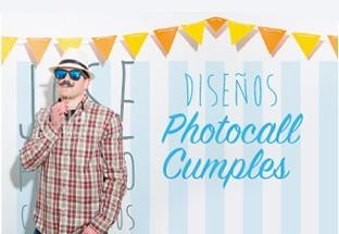 Photocall para Cumpleaños